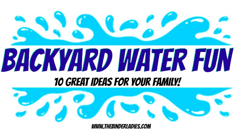 Backyard Water Fun for the Family