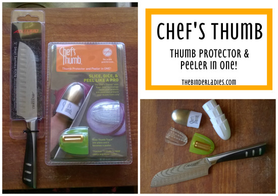 Chef's Thumb thumb protector & peeler in one review