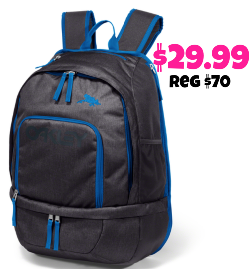 Oakley Pack only $29.99 (reg. $70)