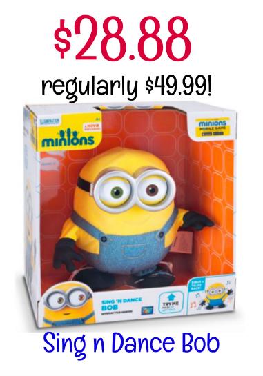 Sing n Dance Minion Bob deal!