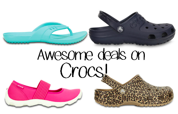 Awesome Deals & Discounts on Crocs