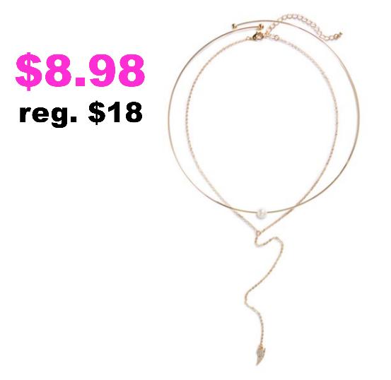 $8.98 necklace (reg. $18)