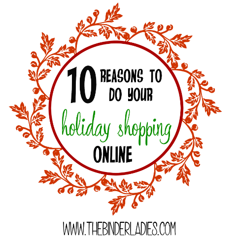 10 reasons to do your holiday shopping online