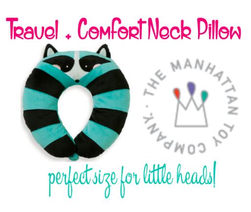 Travel + Neck Pillow for kids