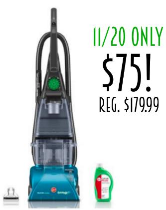 Hoover Vacuum $75