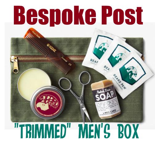 Bespoke Post Men's Trimmed Box