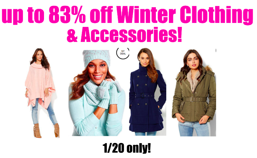 Ny & Co Winter BLOWOUT! up to 83% off!