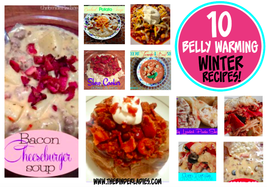 10 Belly Warming Winter Recipes