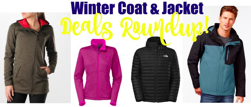 Winter coat & jacket deals roundup