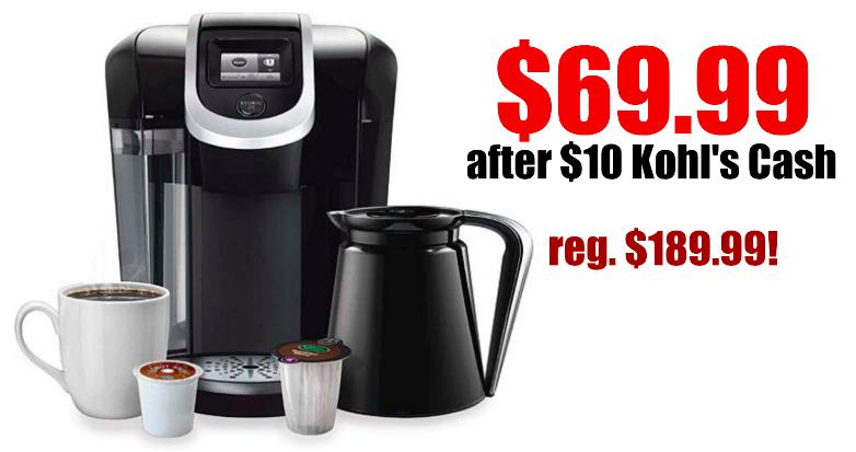 Keurig 2.0 only $69.99!!