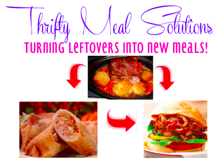 Leftover Meal Ideas