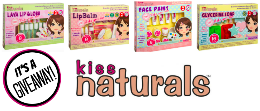 Kiss Naturals DIY Kits for Kids GIVEAWAY!