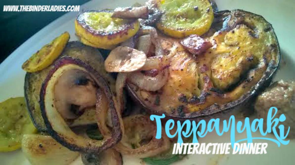 Teppanyaki Interactive Dinner
