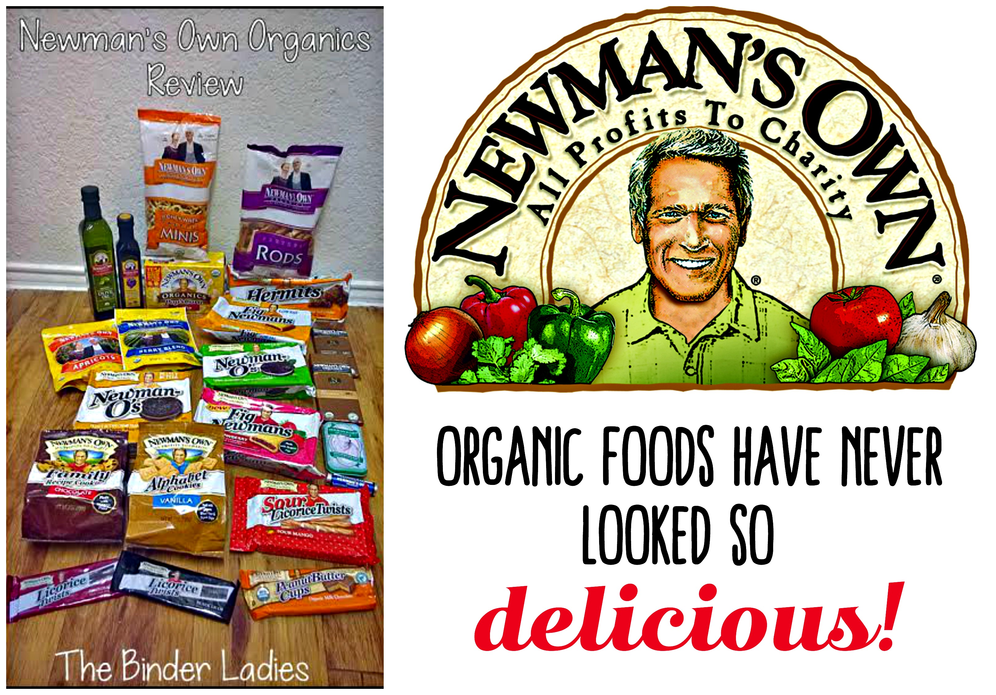 Newman's Own Organics - organic and natural foods and snacks!