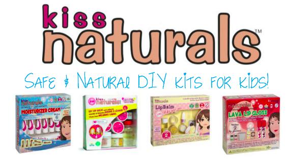 Kiss Naturals - Natural DIY Kits for kids!