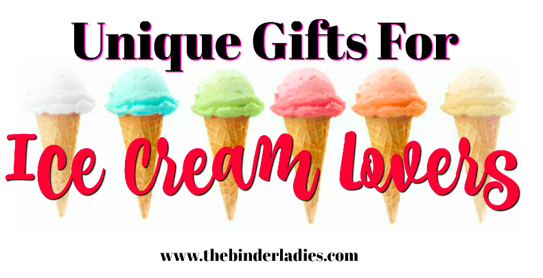 Unique Gifts for Ice Cream Lovers