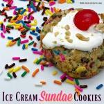 Ice Cream Sundae Cookies Recipe