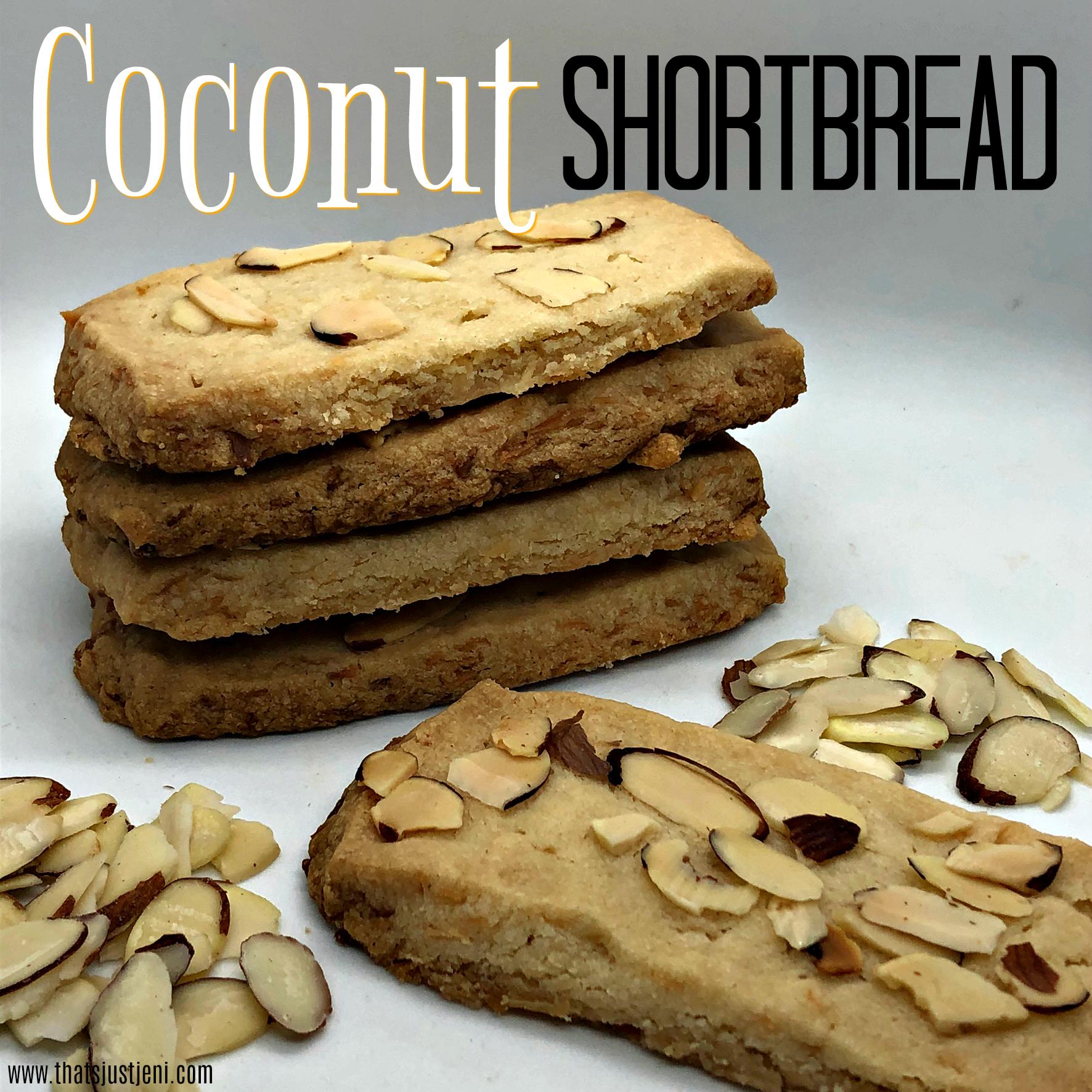 Coconut Shortbread