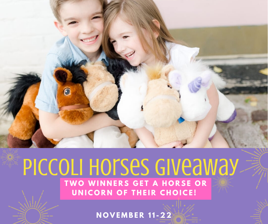 Giveaway! Enter to Win a Piccoli Horse or Unicorn (2 Winners!)