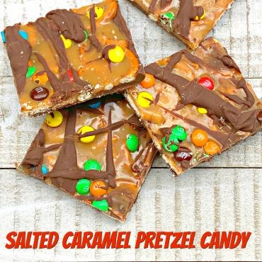 Salted Caramel Pretzel Candy