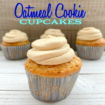 Oatmeal Cookie Cupcakes