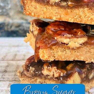 Brown Sugar Pecan Bars