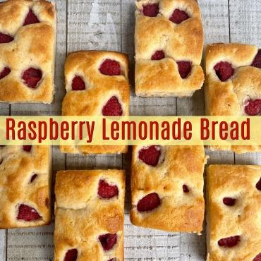 Raspberry Lemonade Bread