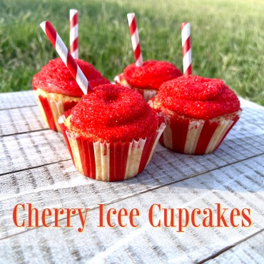 Cherry Icee Cupcakes